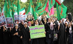 گزارش تصویری راهپیمایی حافظان حجاب قم