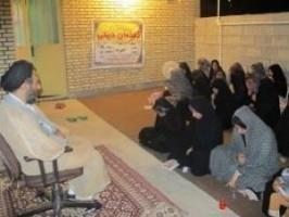 گفتمان دینی با موضوع «عفاف و حجاب» در لنده برگزار شد