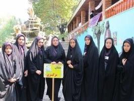 کسب عنوان «پرچمداران حجاب و عفاف» توسط دانشآموزان ساوجی