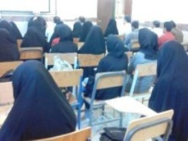 کارگاه آموزشی حجاب وعفاف در دانشگاه پیام نورگناوه برگزارشد