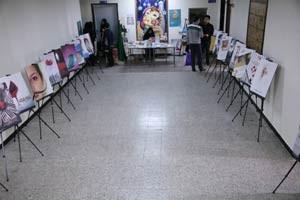 نمایشگاه عفاف و حجاب در مرکز علمی کاربردی جهاد دانشگاهی کرج