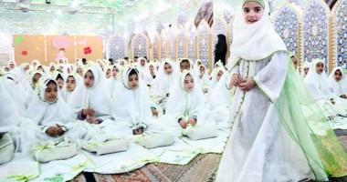 آموزش حجاب در جشن تکلیف