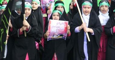 راهپیمایی حافظان حجاب ارومیه برگزار گردید.