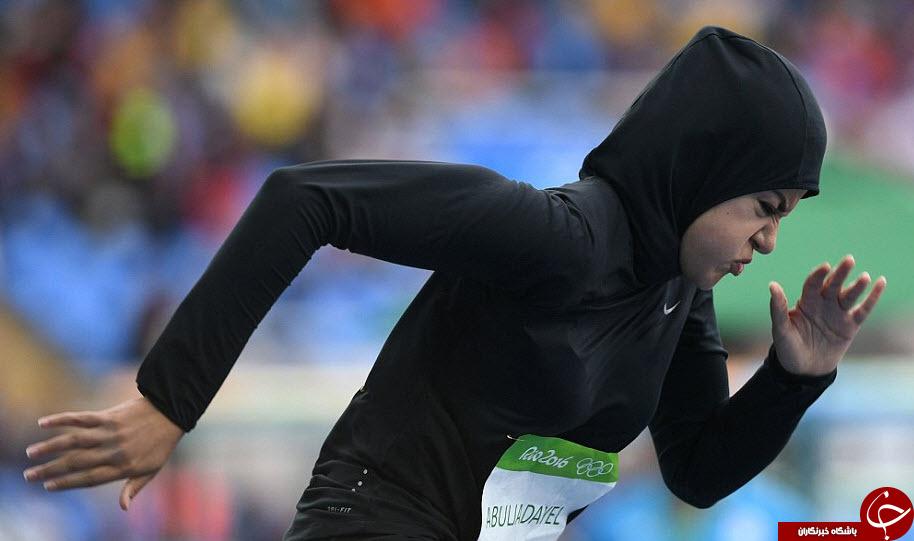 ورزشکاری که در ریو به خاطر حجابش اینترنت را تسخیر کرد