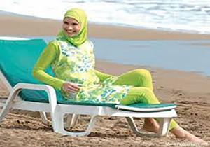 ممنوعیت پوشش لباس شنا برای زنان مسلمان در فرانسه