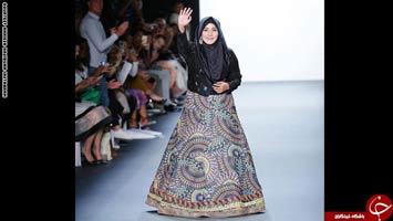 تصاویر؛ نخستین نمایش مُد لباس اسلامی در نیویورک!