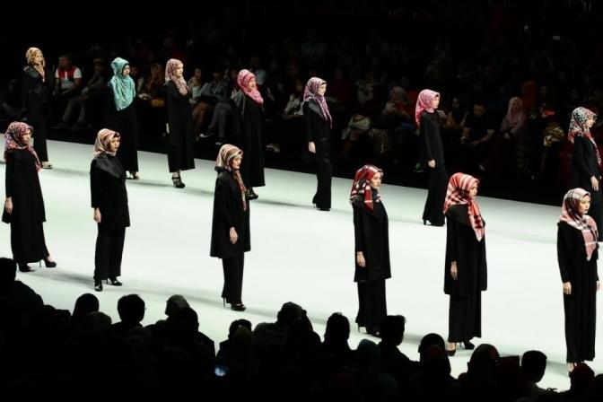درآمد میلیاردی صنعت جهانی مد از لباسهای اسلامی