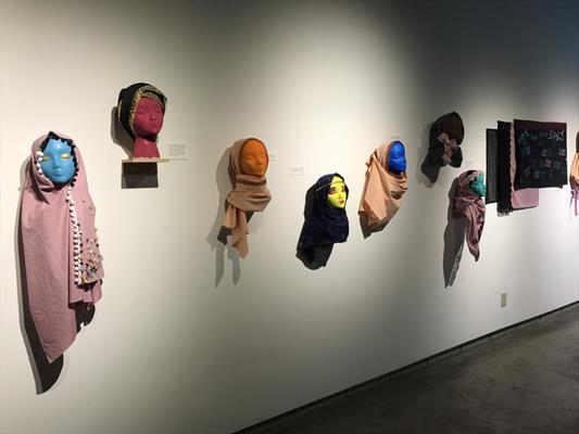 نمایشگاه حجاب در موزه هنرهای معاصر یوتا برگزار شد
